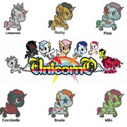 25% off - Unicorno Kawaii - Tokidoki - 6 Unicorns in a set for 4x4in hoop - machine embroidery designs.