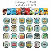 50% off on Disney Pixar Emojis machine embroidery designs for 4in hoop - 24 Resizable designs - Toy Story, Bug's Life, Monsters, Ratatouille
