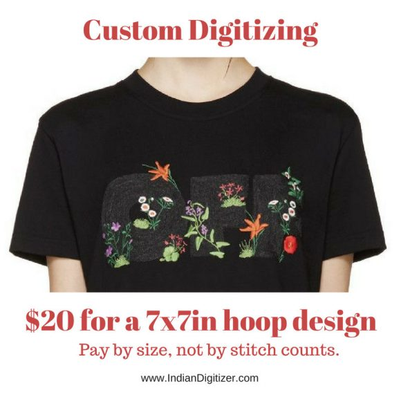 50% off on Tokidoki machine embroidery designs - 7 individual characters for 4in hoop size - resizable with a free software - Set 5 of 5.