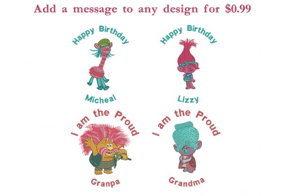75% off on Clever Tula - cute animal designs for 4in x 4in hoop size with original resizable file.